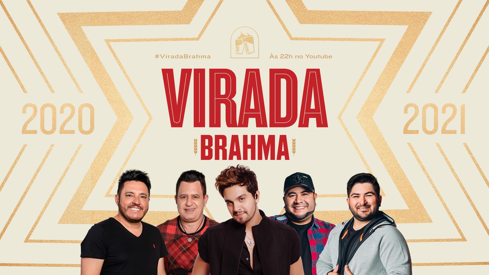 Brahma promove show inédito da virada com Bruno e Marrone, Luan Santana e Barões da Pisadinha