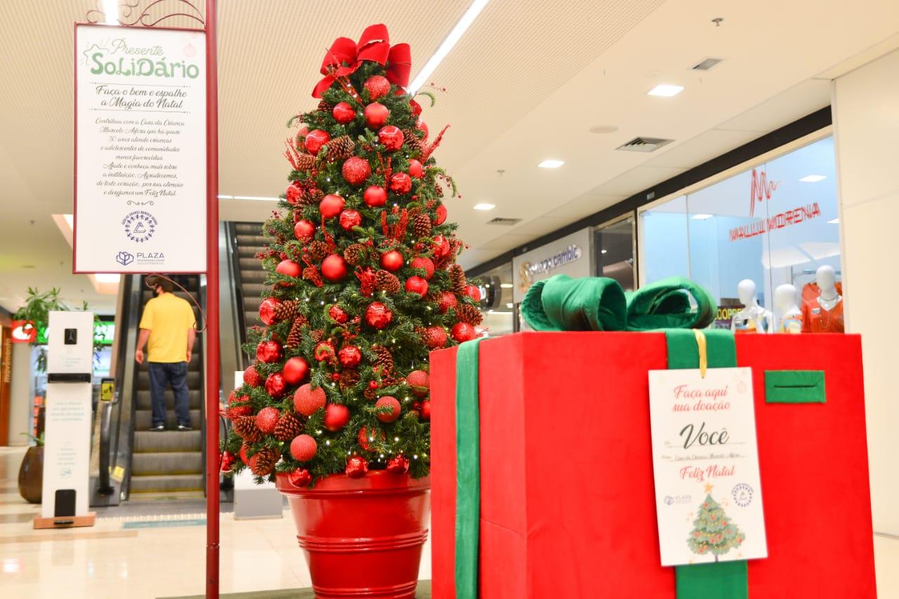 Casa da Criança Marcelo Asfora será beneficiada pelo Presente Solidário do Plaza Shopping