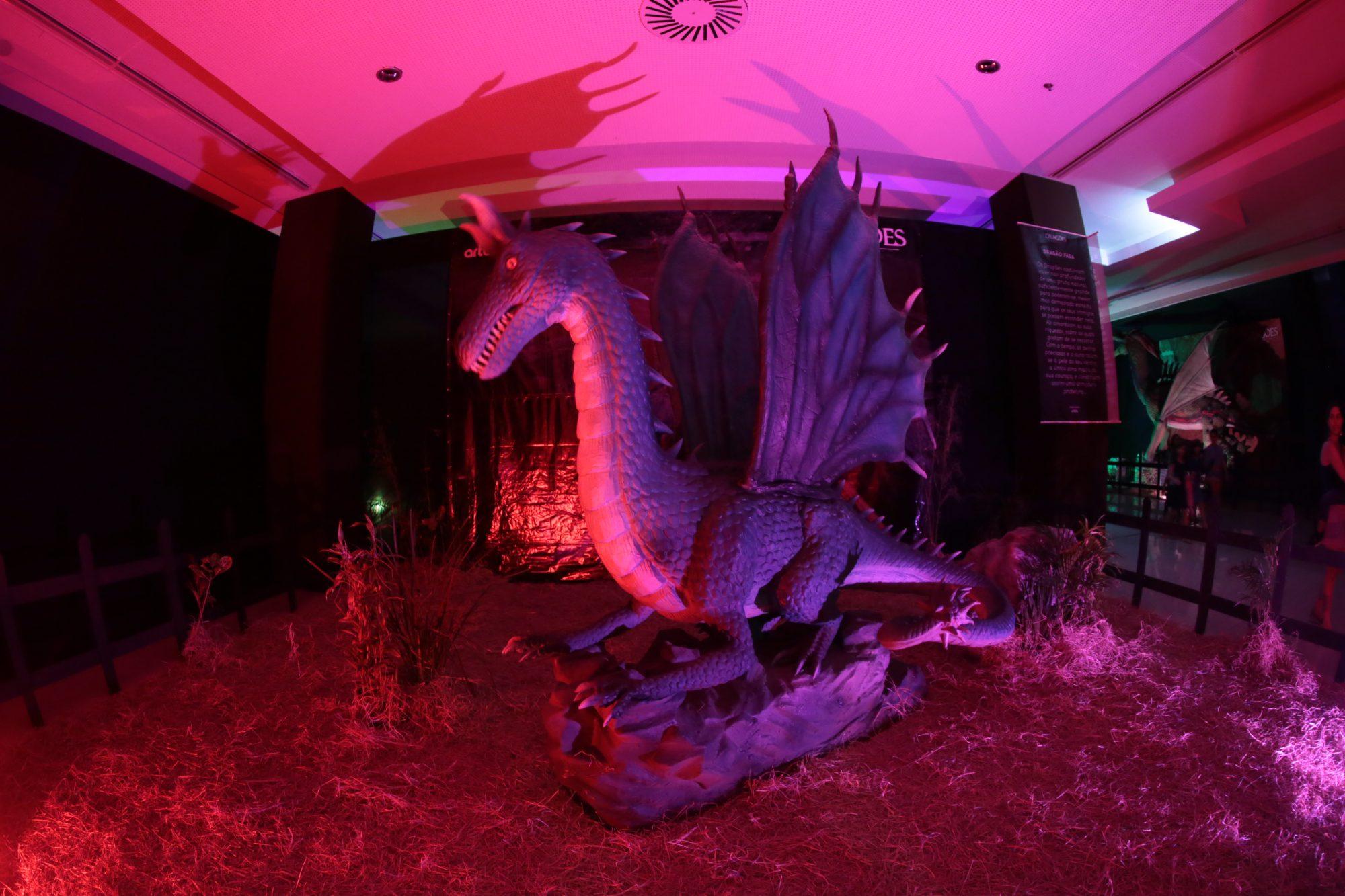 Em breve no RioMar a Exposição Internacional 'Dragões'