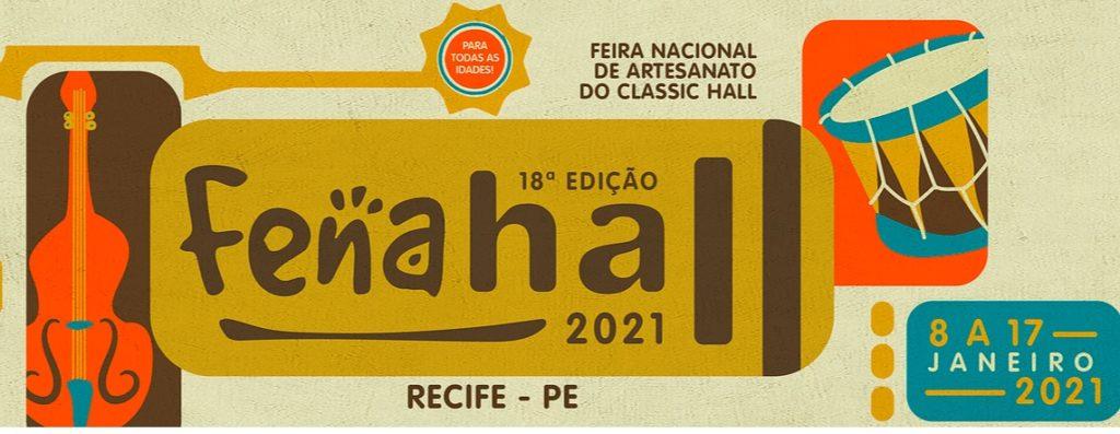 18ª edição da Feira Nacional de Artesanato (Fenahall) terá início nesta sexta-feira e terá rigoroso protocolo sanitário