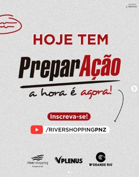River Shopping organiza aulão gratuito de revisão pro ENEM