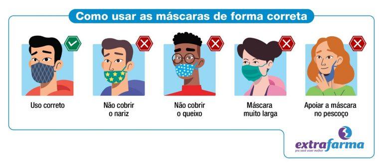 Dicas para uso de máscaras no verão