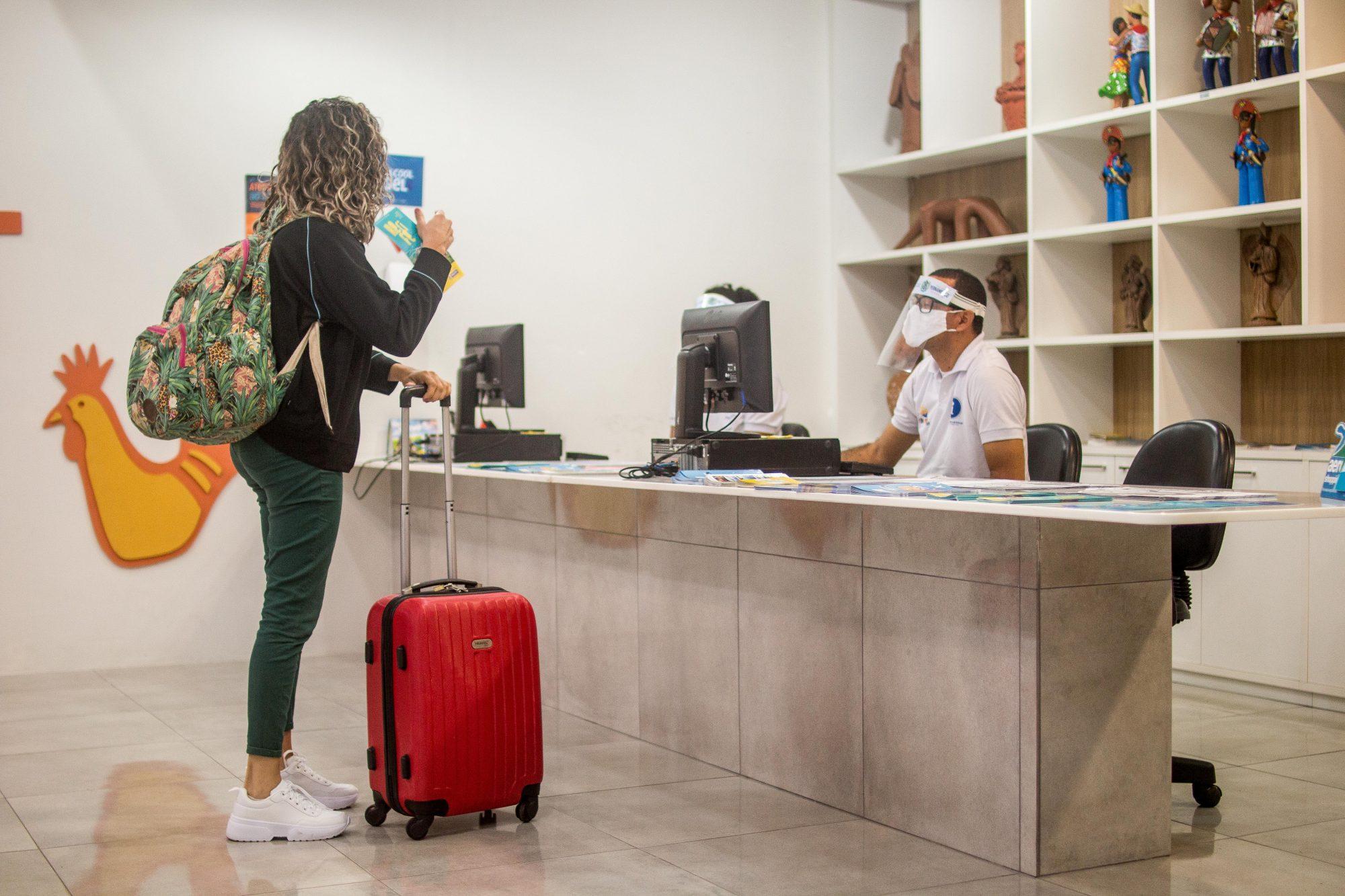 Centros de Atendimento ao Turista da Empetur retornam atividades nesta quinta-feira (1º)