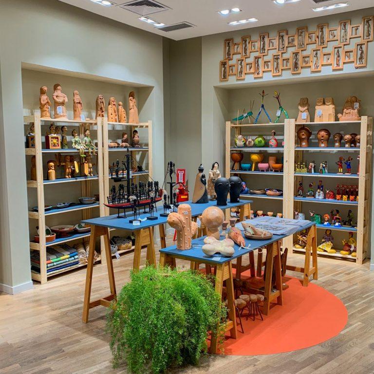 Governo de Pernambuco abre loja de artesanato no Plaza Shopping