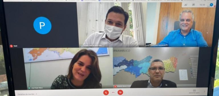 Bernardo Peixoto e Geraldo Júlio criam canal de diálogo entre os setores produtivos e público no combate à pandemia
