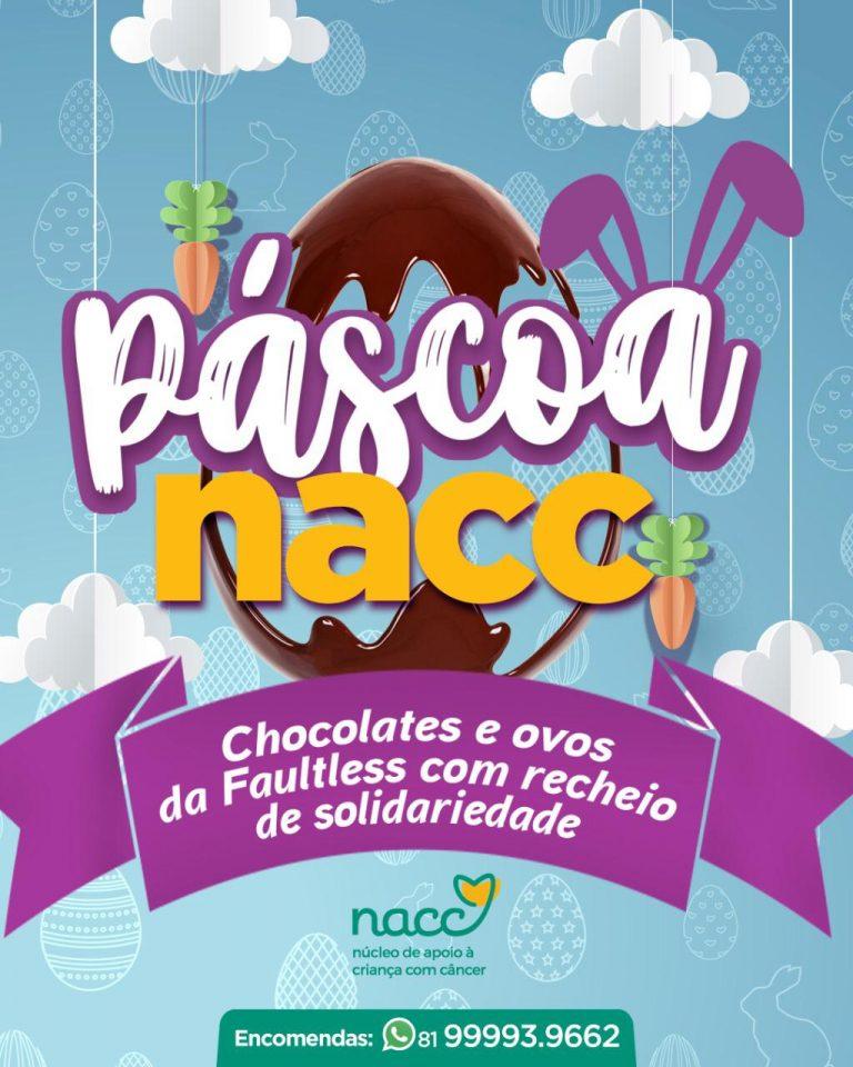 NACC lança campanha de Páscoa em parceria com a Faultless