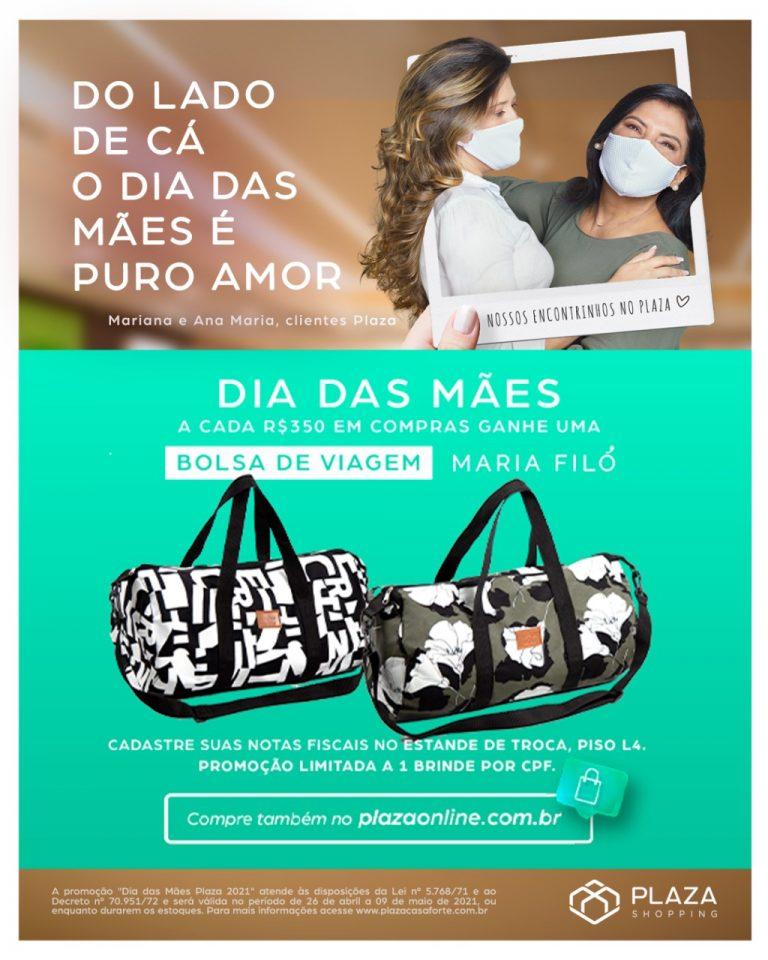 """Plaza Shopping celebra Dia das Mães com promoção """"compre e ganhe"""" e campanha com clientes"""