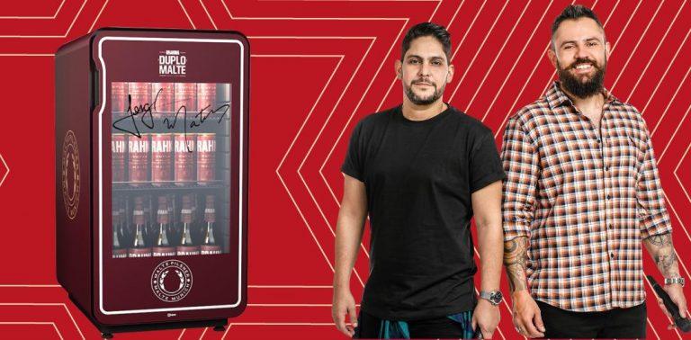Brahma sorteia geladeira de cerveja com autógrafo de Jorge e Mateus