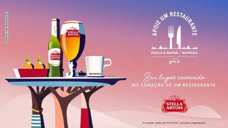 Apoie Um Restaurante: Stella Artois retoma plataforma para ajudar estabelecimentos afetados pela crise