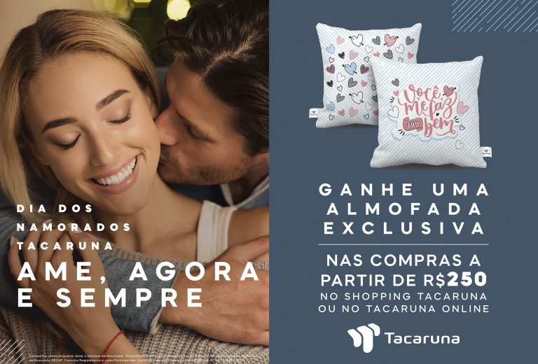 Dia dos Namorados é comemorado com promoção compre e ganhe no Shopping Tacaruna