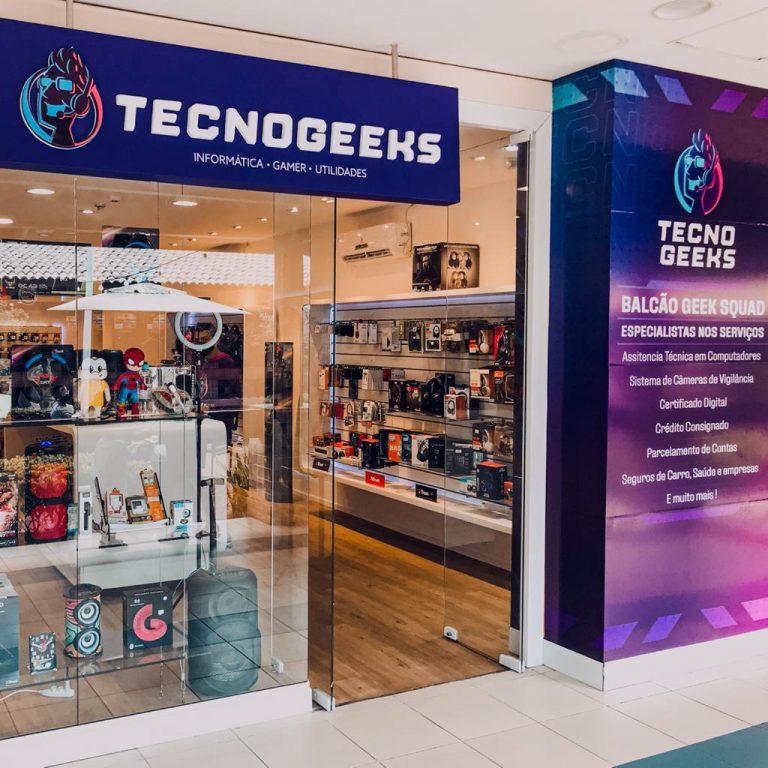 TecnoGeeks inaugura no Shopping Costa Dourada