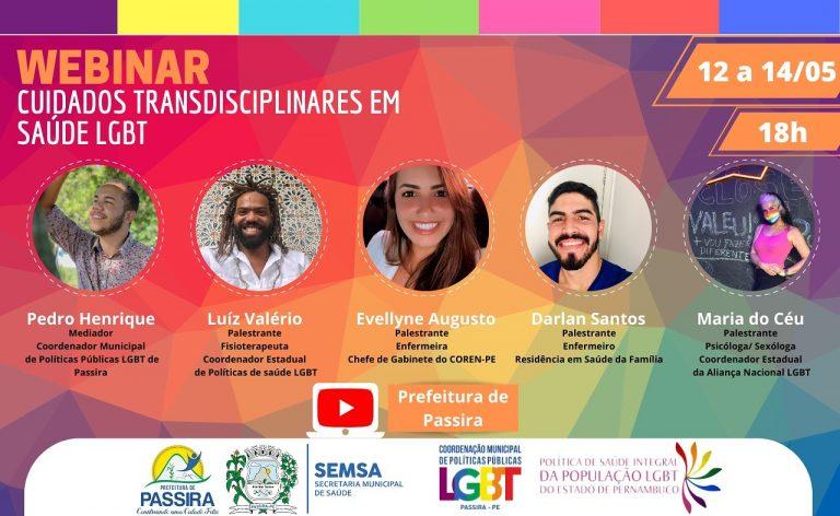1° Webinar de Saúde LGBT do Agreste