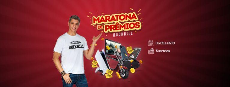 Duckbill lança Maratona de Prêmios com vale-compras, PS5, iPhone, moto elétrica e muito mais