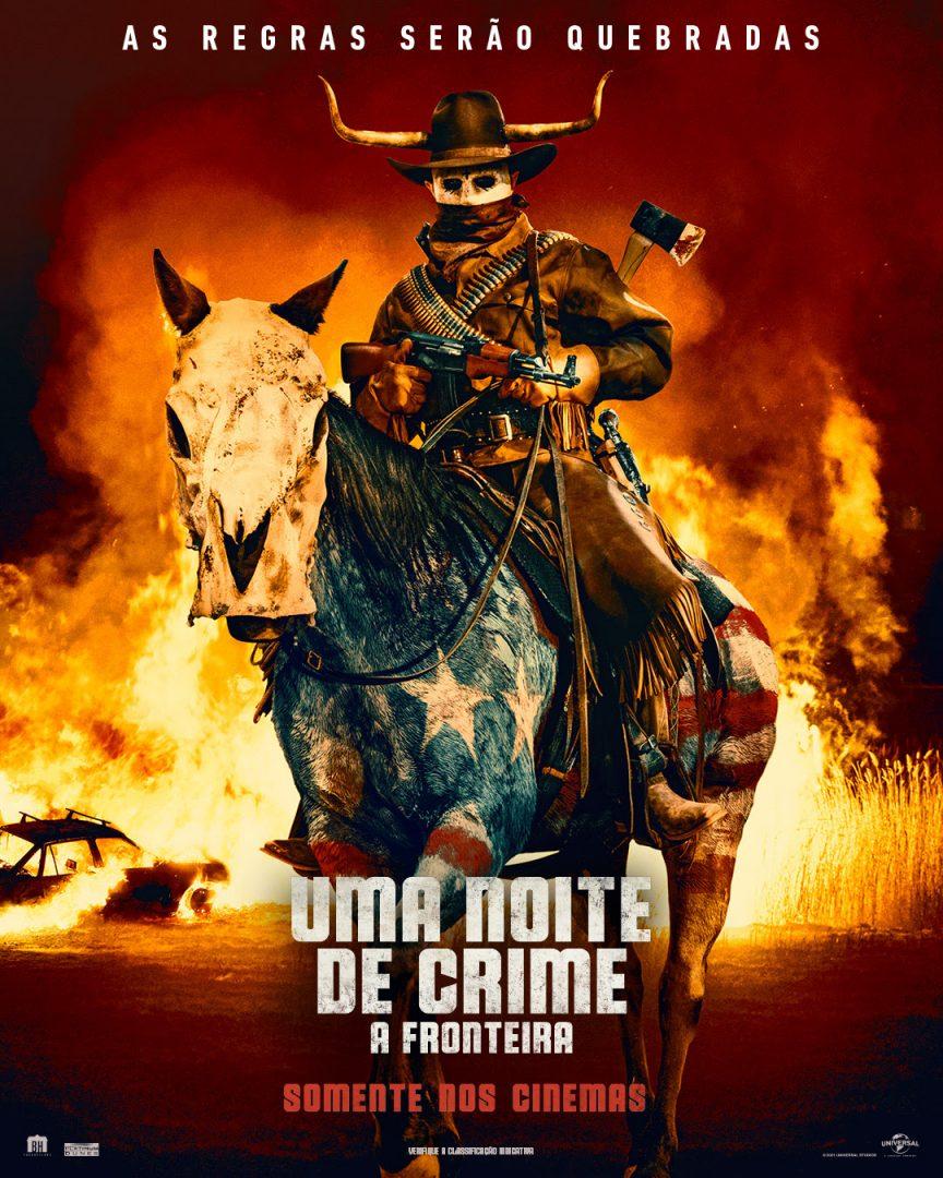 Uma Noite de Crime: A Fronteira ganha primeiro trailer e pôster oficial