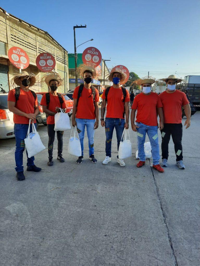 Solar Coca-Cola e Governo de Pernambuco realizam ações de conscientização contra o coronavírus no Ceasa