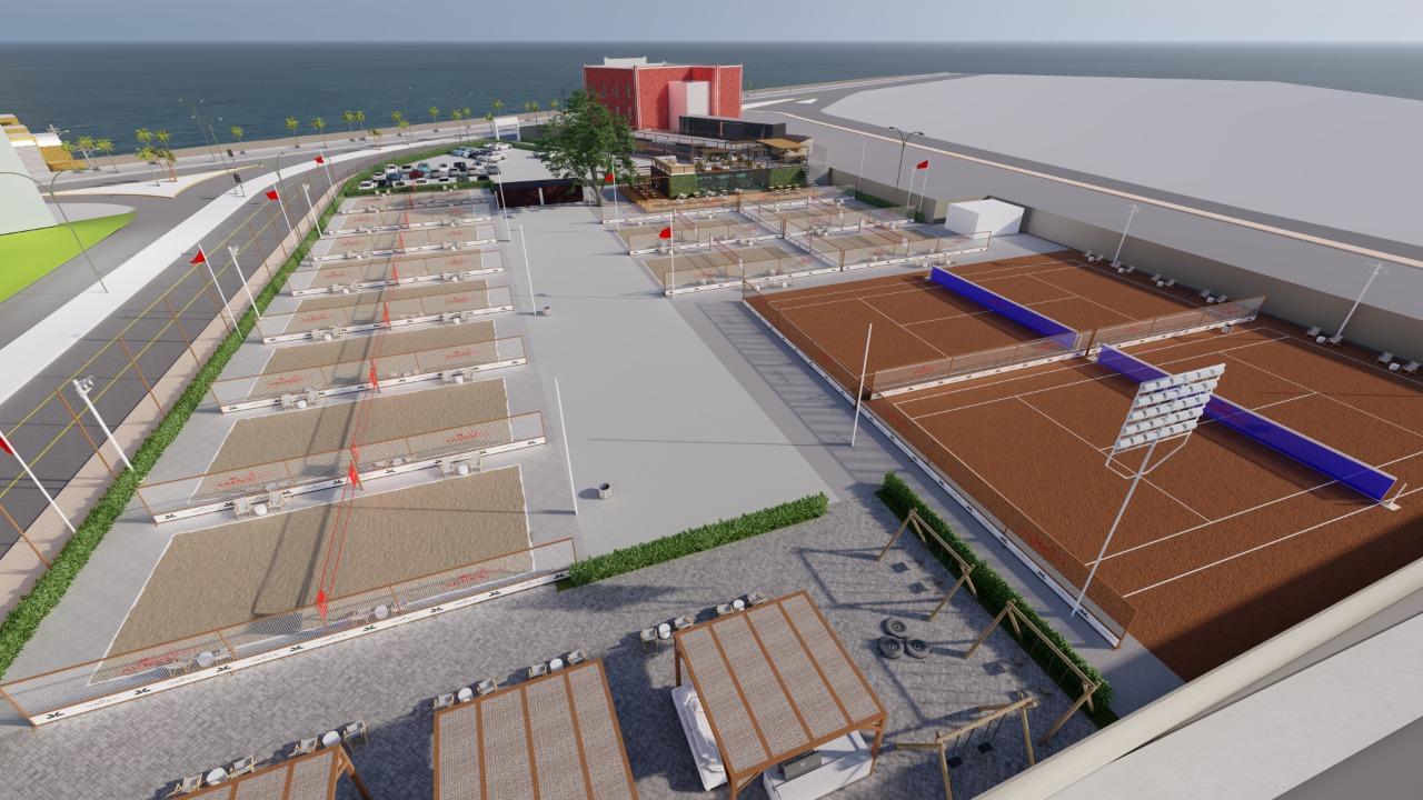 Beira mar de Boa Viagem ganha novo complexo esportivo de Pernambuco