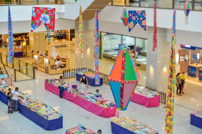 """Shopping Patteo Olinda recebe a feira """"Eu Amo Ler"""" até 30 de junho"""