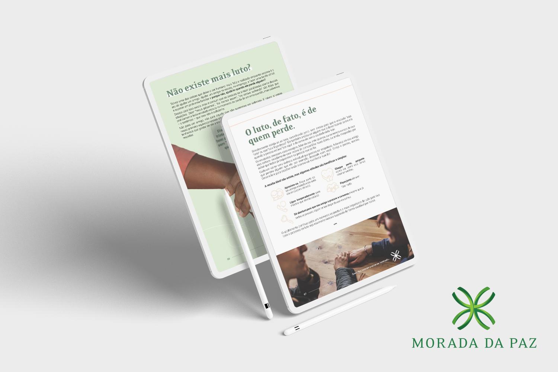 Morada da Paz lança e-book gratuito que orienta como ajudar pessoas enlutadas