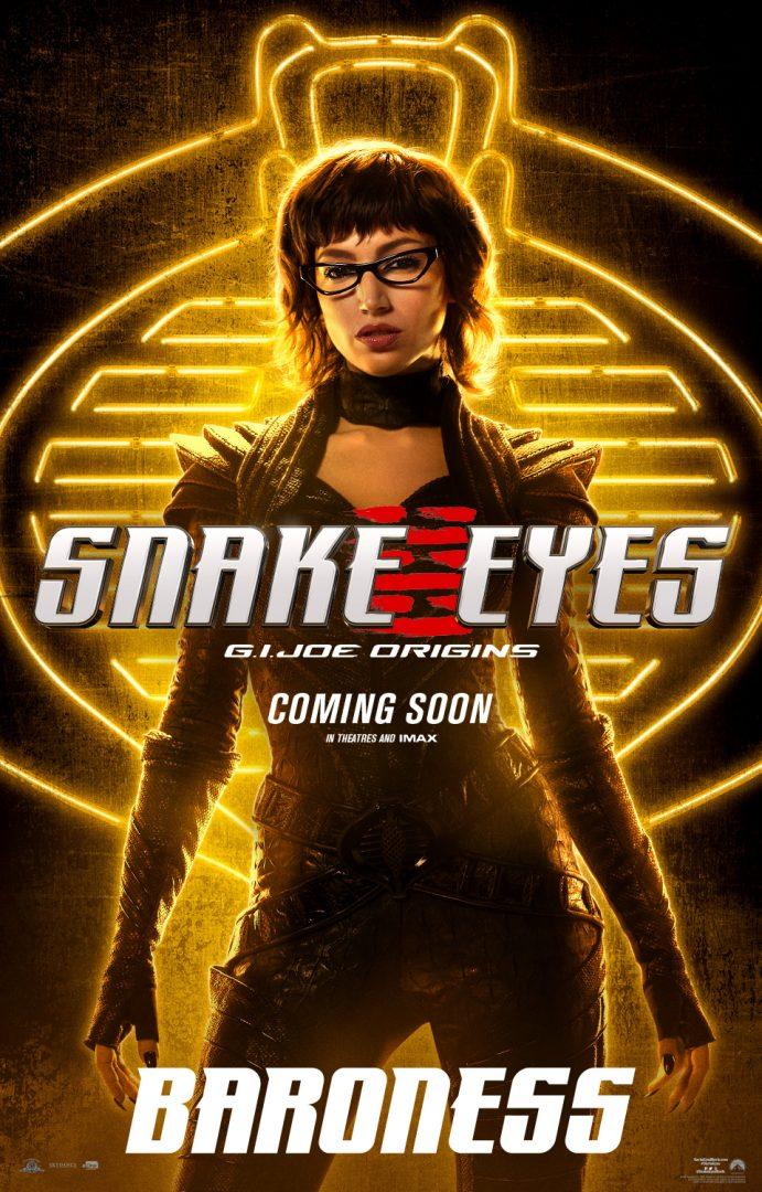 'G.I.Joe Origens: Snake Eyes' ganha pôsteres dos personagens e making of