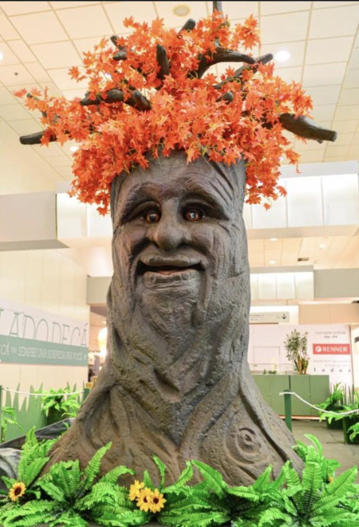 """Exposição """"Natureza Gigante"""" é atração de julho no Plaza Shopping"""