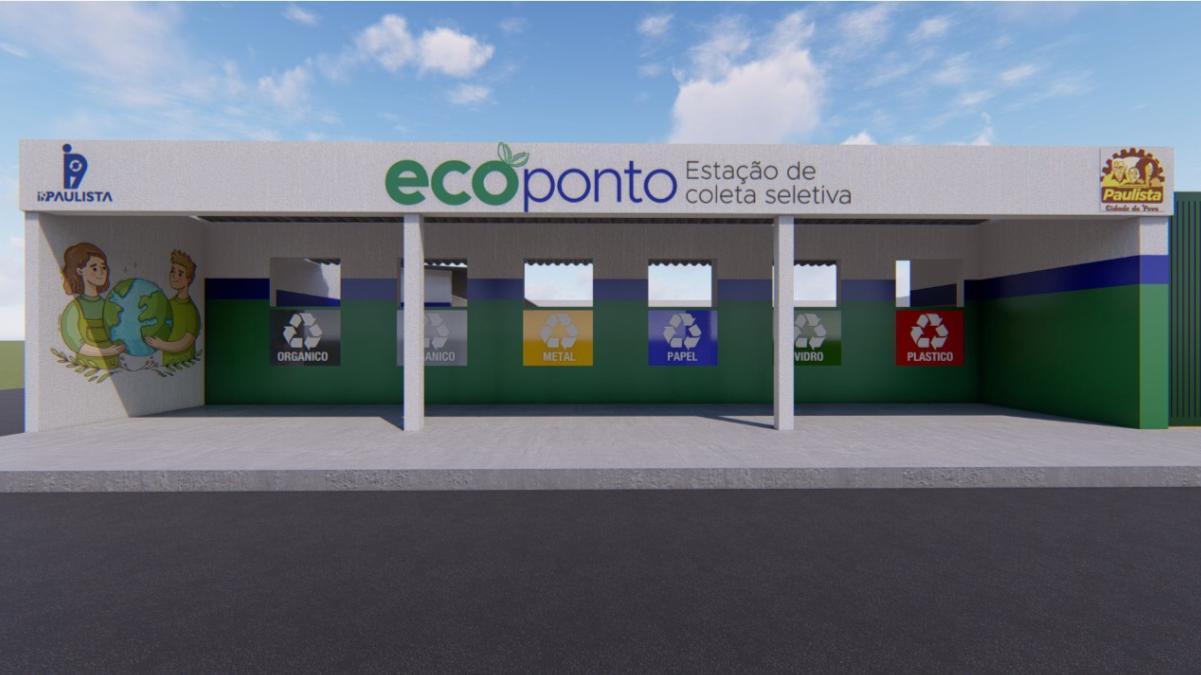 Paulista terá ecopontos para materiais recicláveis