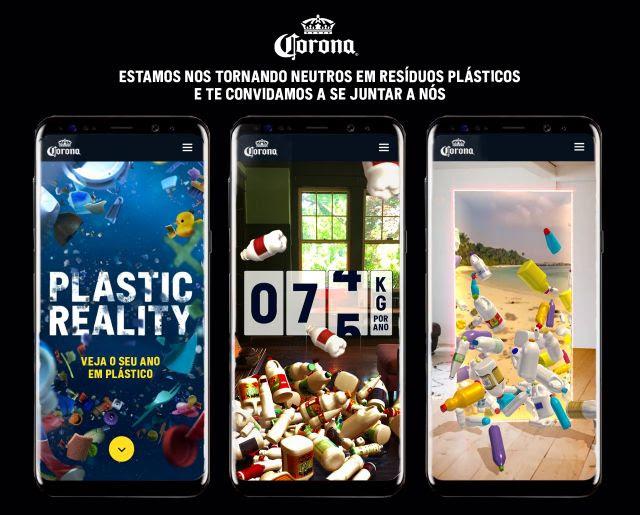Corona é a primeira marca de bebidas a se tornar neutra em resíduos plásticos em escala global