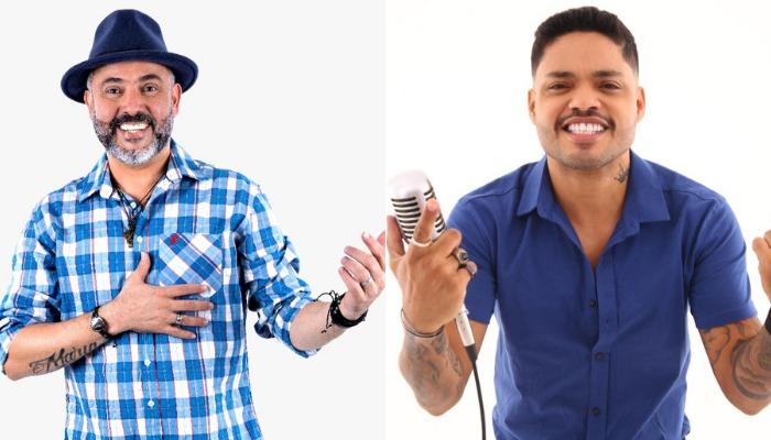 Geraldinho Lins e Helton Lima são atrações da Live São João do Motivo