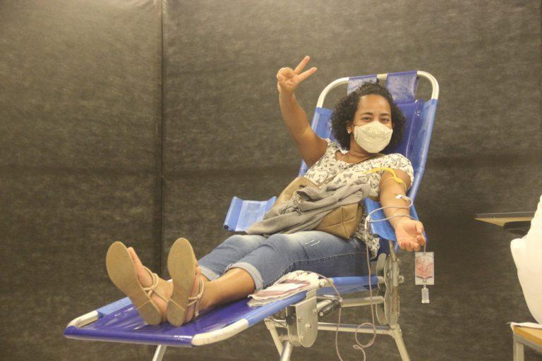 Camará Shopping promove campanha de doação de sangue
