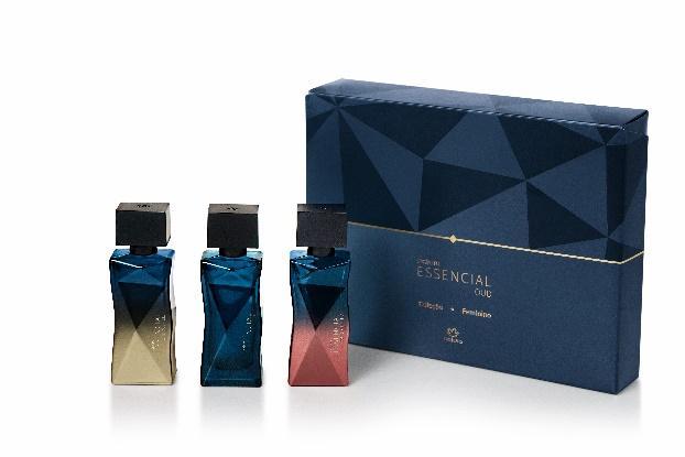 """Natura apresenta Coleção Essencial Oud, com fragrâncias que unem preciosos ingredientes da biodiversidade brasileira ao sofisticado oud, o """"ouro líquido*"""""""