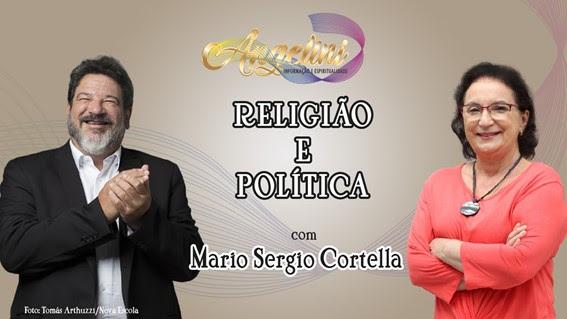 Canal Angelini recebe Mario Sérgio Cortella  para falar de política e espiritualidade