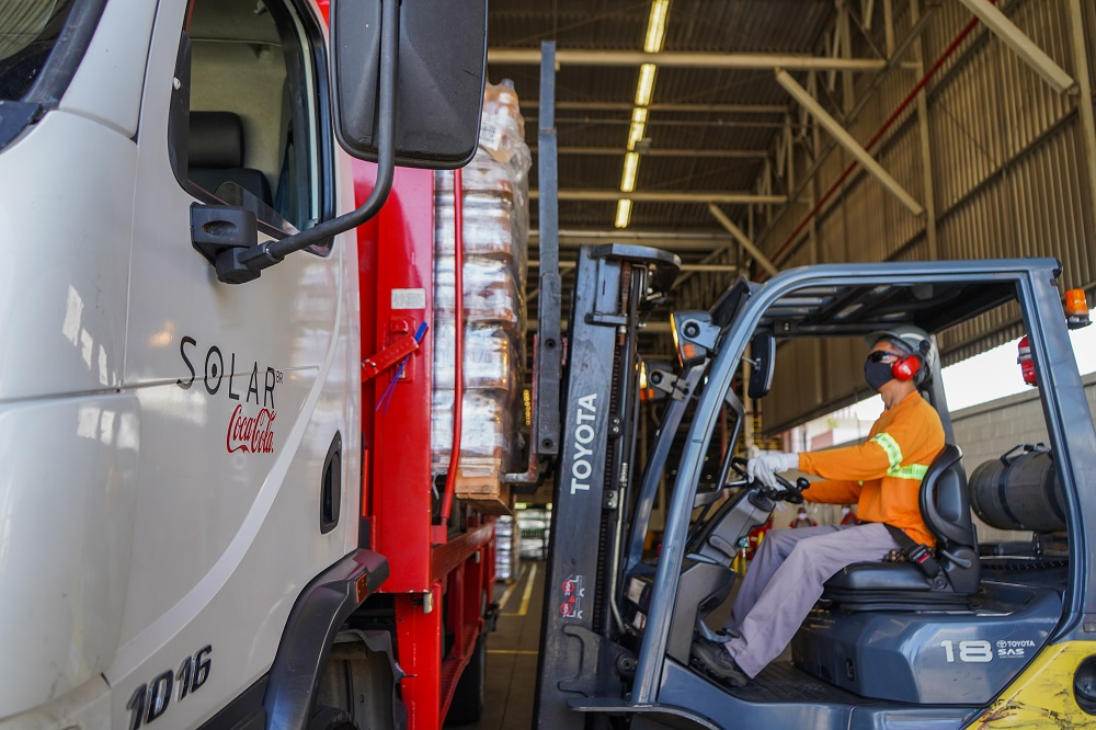 Solar Coca-Cola doa mais de 186 mil toneladas em alimentos e mais de um milhão de litros de água e sucos durante a pandemia
