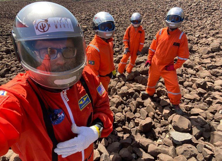 Estação espacial Análoga Habitat Marte seleciona aluna da Estácio para participar da simulação de uma missão espacial a Marte