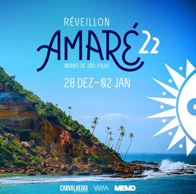 Carvalheira, We Make e Memo apresentam o Réveillon Amaré que faz sua estreia em Morro de São Paulo