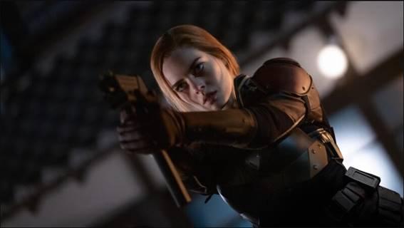 """A Paramount Pictures divulga novo vídeo de G.I. Joe Origens: Snake Eyes: """"Major Scarlett"""""""