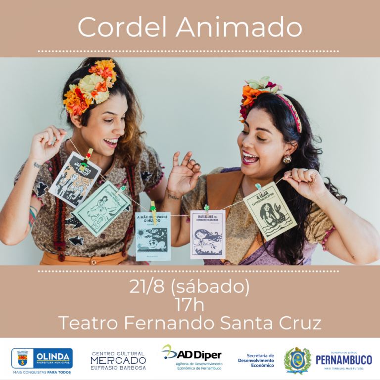 Volta aos palcos: Cordel Animado celebra Folclore na primeira apresentação aberta ao público
