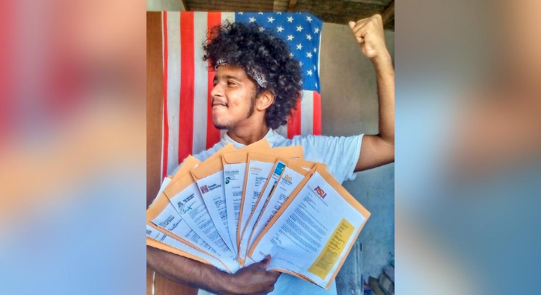 Pernambucano aprovado em nove universidades nos EUA inspira outros jovens periféricos