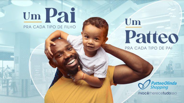 Dia dos Pais: Shopping Patteo Olinda presenteia clientes com vídeos personalizados