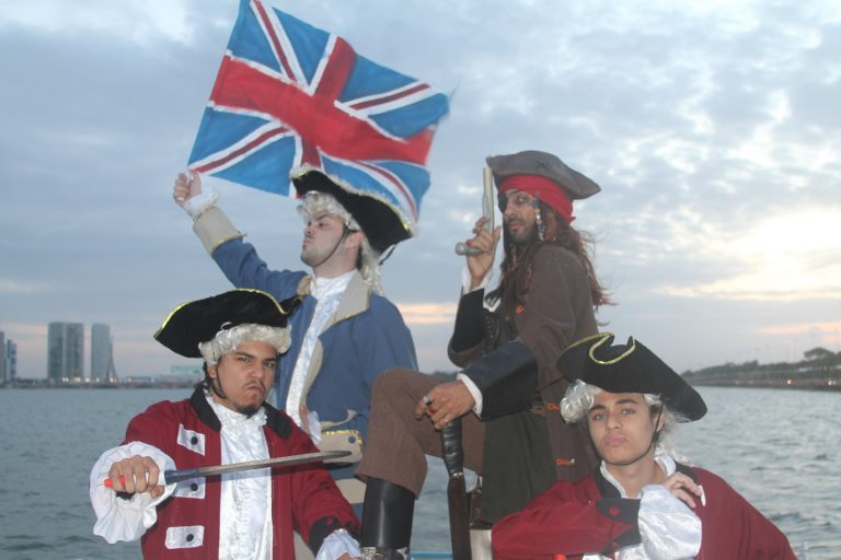 Assombrações e piratas invadem tours da Catamaran nesta sexta-feira, 13, e no domingo