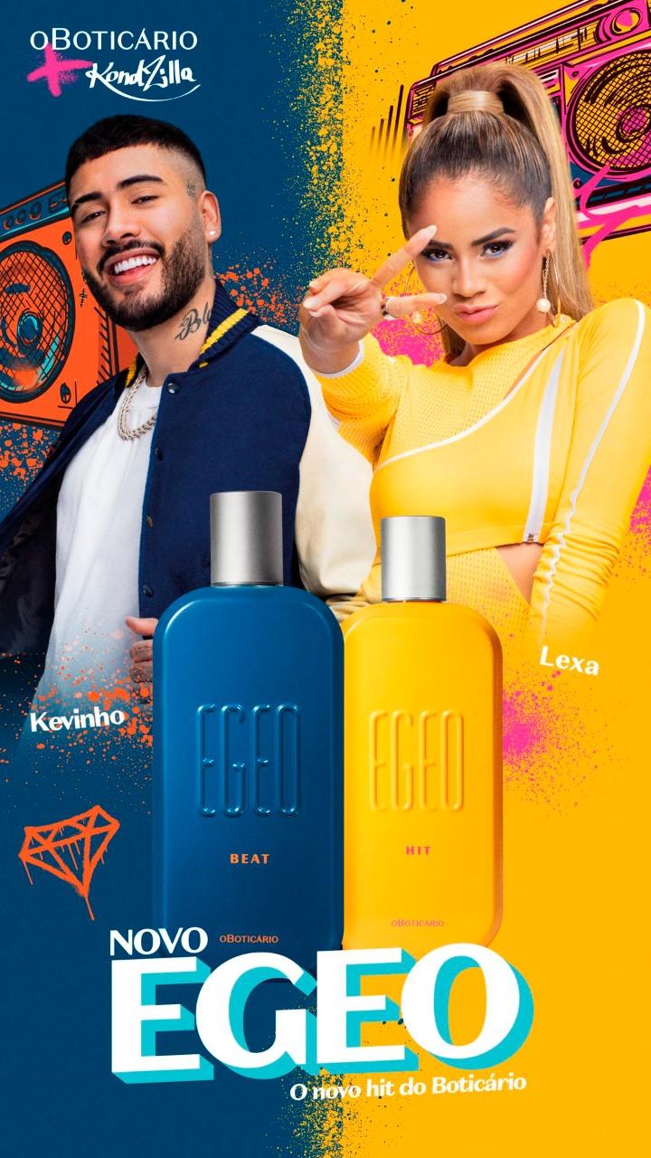 O Boticário faz parceria com Kondzilla para o lançamento de Egeo Beat & Hit
