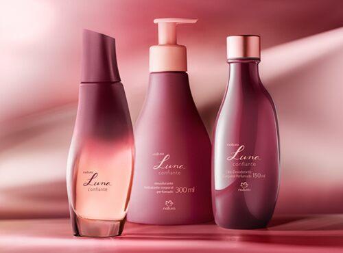 Natura lança Luna Confiante, nova fragrância envolvente para mulheres confiantes na própria pele