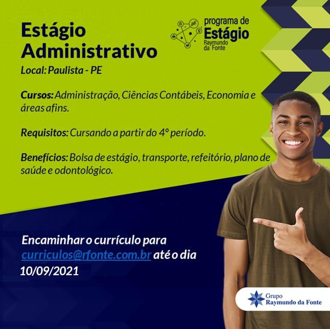 Indústria Raymundo da Fonte abre vagas de estágio em Pernambuco