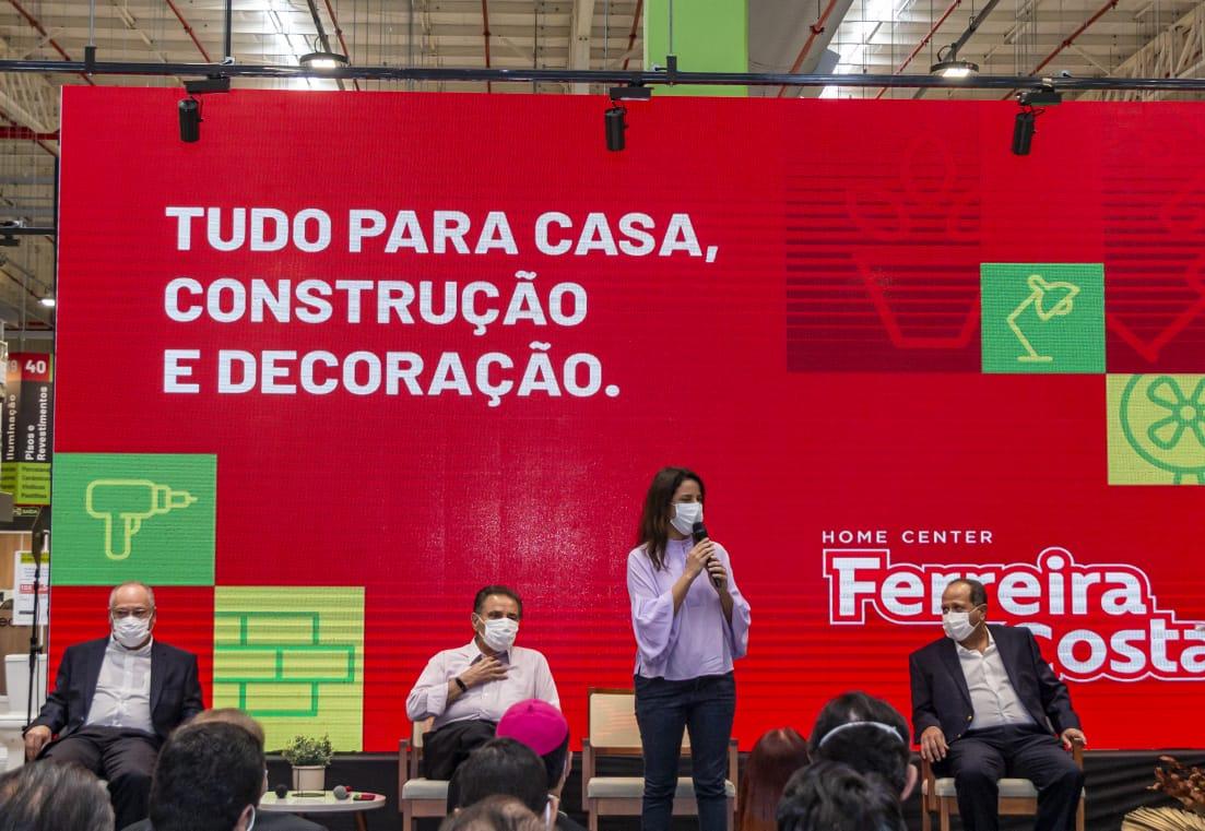 O Home Center Ferreira Costa inaugura loja na Princesinha do Agreste.