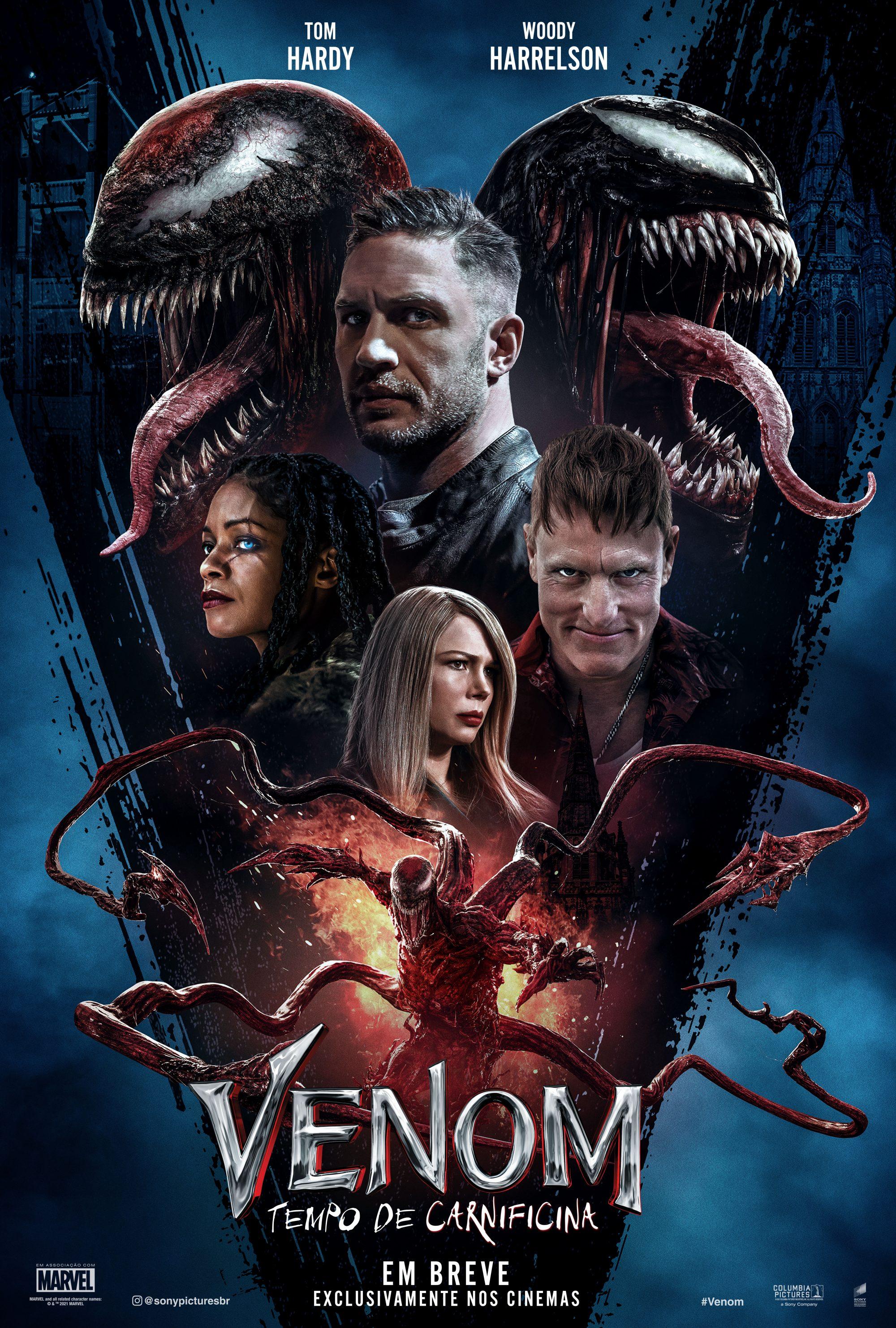 """Ingressos de """"Venom – Tempo de Carnificina"""" já estão disponíveis para compra"""