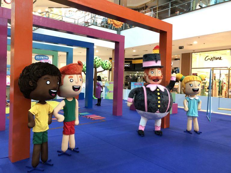 Shopping Tacaruna comemora o Dia das Crianças com o Circuito de Brincadeiras Mundo Bita
