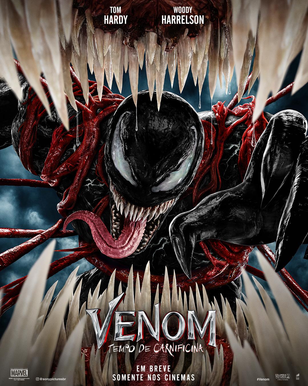 """""""Venom – Tempo de Carnificina"""" quebra recordes de bilheteria em sua estreia internacional nos cinemas"""