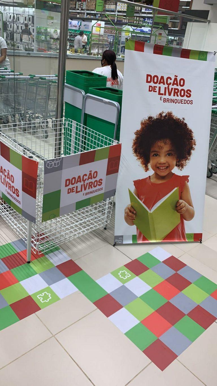Está aberta a Campanha de doação de brinquedos e livros infantis